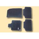 Serie di tappetini in moquette agugliata Peugeot - 407, 407 SW