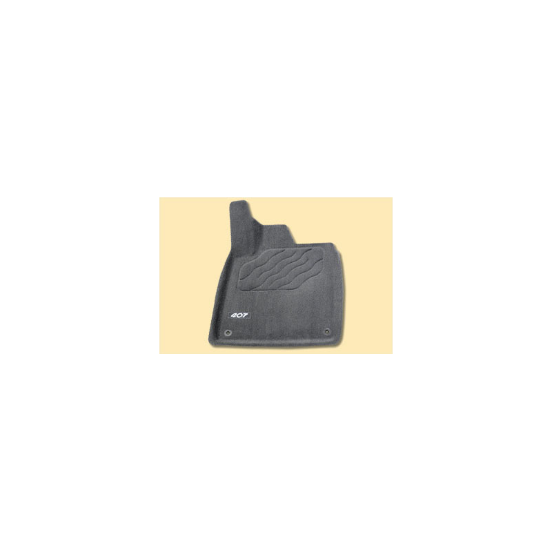 "Serie di tappetini sagomati UFT ""3D"" Peugeot - 407, 407 SW"