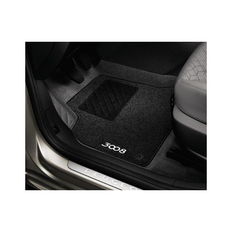 Satz bodenmatten geformt Peugeot 3008