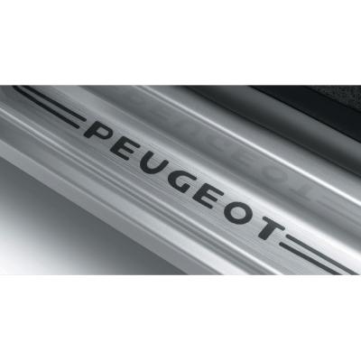 Satz mit 2 Türschwellerschutzleisten Peugeot - Rifter, Partner (K9), Partner (Tepee) (B9)