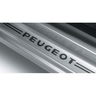 Set of front door sill trims Peugeot - Rifter, Partner (K9), Partner (Tepee) (B9)