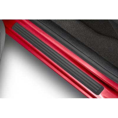 Satz mit 2 Türschwellerschutzleisten PVC Peugeot Partner (Tepee)(B9), Citroën Berlingo (Multispace) B9