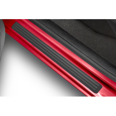 Set of front door sill trims PVC Peugeot Partner (Tepee)(B9), Citroën Berlingo (Multispace) B9