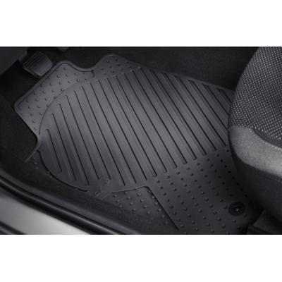 Set of rubber floor mats rear Peugeot 206+