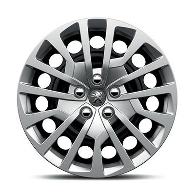 "Poklice na kolo RAKIURA 16"", styl Peugeot 3008 SUV, 5008 SUV, Traveller / Expert 4"