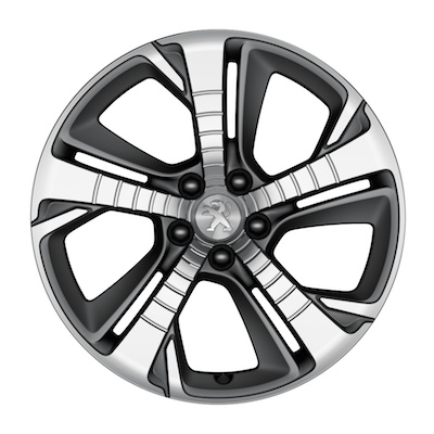 "Alloy wheel Peugeot DIAMANT 18"" - 308 (T9), 308 SW (T9)"