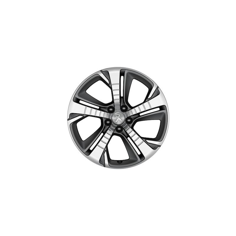 alloy wheel peugeot diamant 18 u0026quot