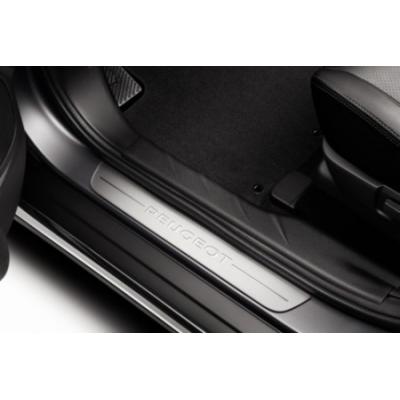 Serie di 2 battitacco per porte anteriori Peugeot - 308 (T9), 308 SW (T9), Traveller, 207, 207 SW, 207 CC, 4007, 4008