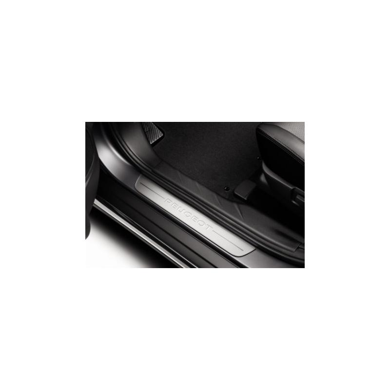 Juego de 2 embellecedores de umbral de puerta delantero Peugeot