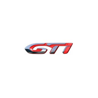 """Štítek """"GTi"""" zadní část vozu Peugeot 308 (T9)"""
