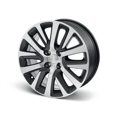 "Satz mit 4 Leichtmetallfelgen wheels Peugeot CALLISTO 17"" - 5008"