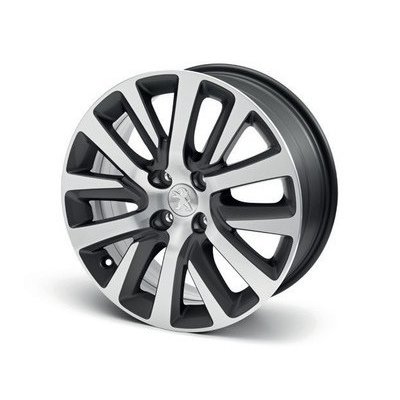 "Set of 4 alloy wheels Peugeot CALLISTO 17"" - 5008"