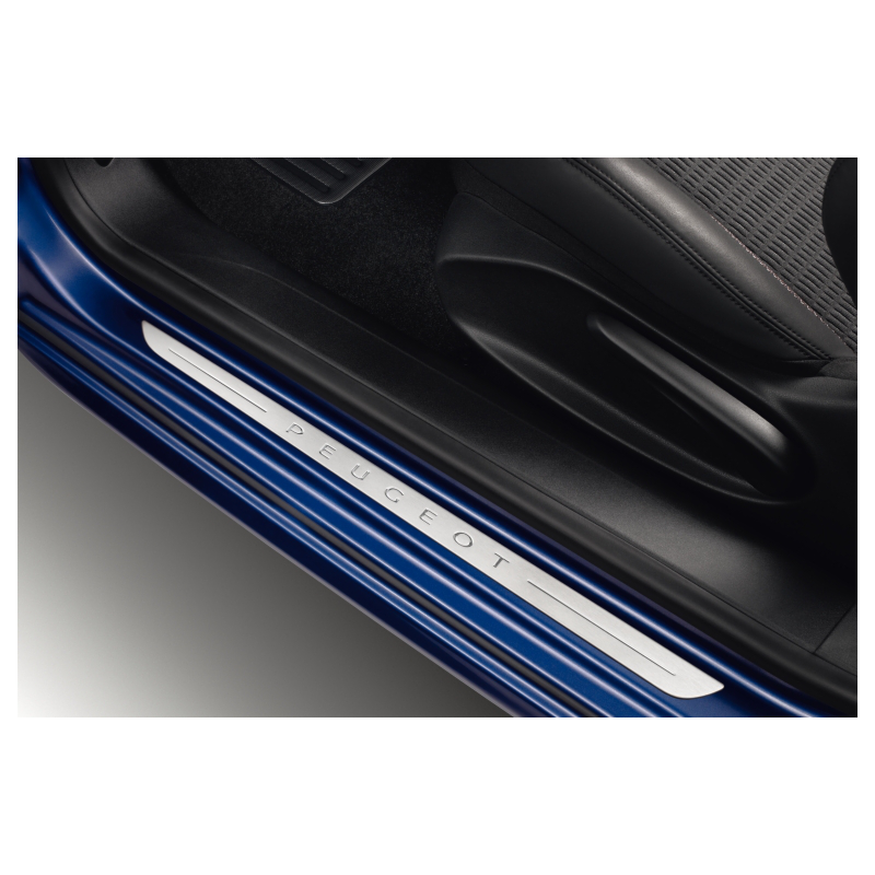 Juego de 2 embellecedores de umbral Peugeot 208 3 Puertas