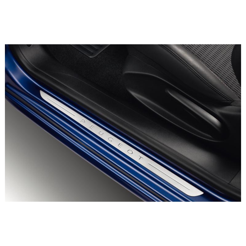 Serie di 2 battitacco per porte anteriori Peugeot 208 3 Porte