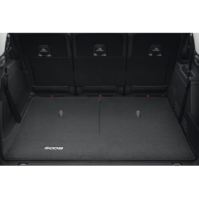 Luggage compartment mat reversible Peugeot 5008 SUV (P87)