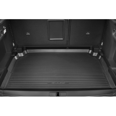 Luggage compartment tray Peugeot 5008 SUV (P87), polyethylene