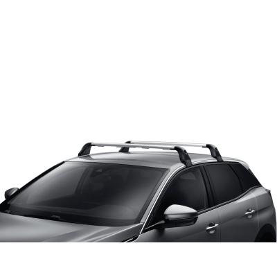 Juego de 2 barras de techo transversales Peugeot - Nueva 5008 (P87) SUV sin barras