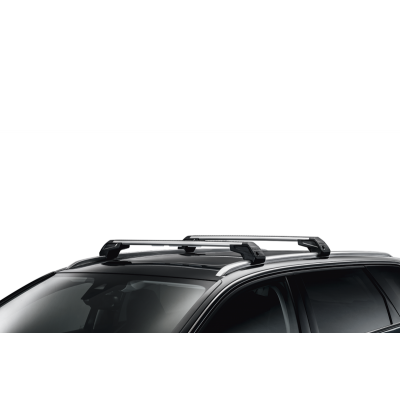 Set of 2 transverse roof bars Peugeot 5008 SUV (P87) with bars