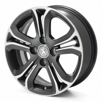 "Alloy wheel Peugeot HELIUM 16"" - 208"