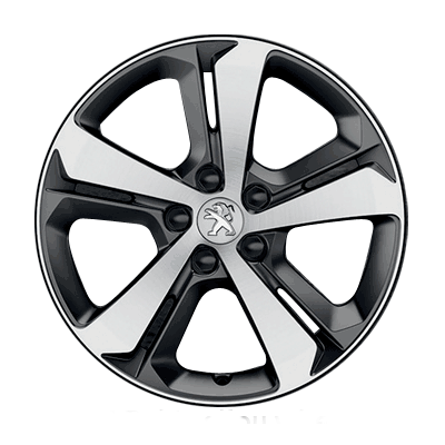 "Alloy wheel Peugeot RUBIS 17"" - New 308 (T9)"
