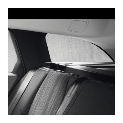 Satz mit 2 Sonnenblenden Heckseitenscheiben Peugeot 508 SW