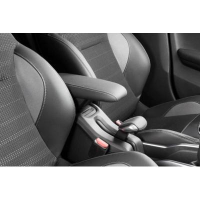 Apoyacodos central delantero Peugeot 2008, sobrecostura gris Tramontane