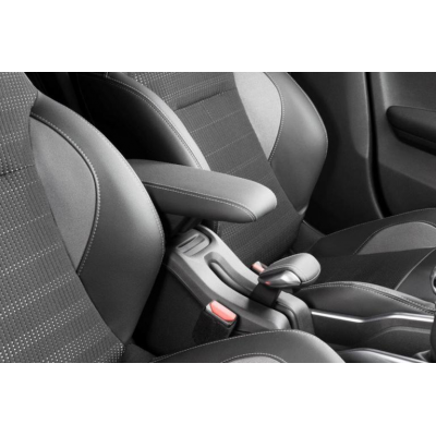 Bracciolo centrale Peugeot 2008, impuntura grigio Tramontane