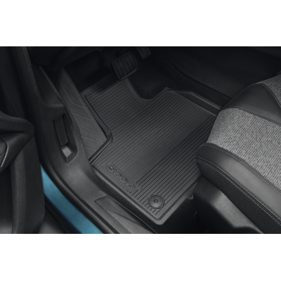 Set of rubber floor mats Peugeot 5008 SUV (P87)