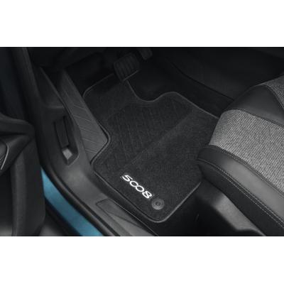 Juego de alfombrillas de moqueta acordonada Peugeot 5008 SUV (P87)