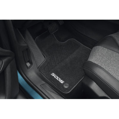 Serie di tappetini in moquette agugliata Peugeot - Nuova 5008 (P87)