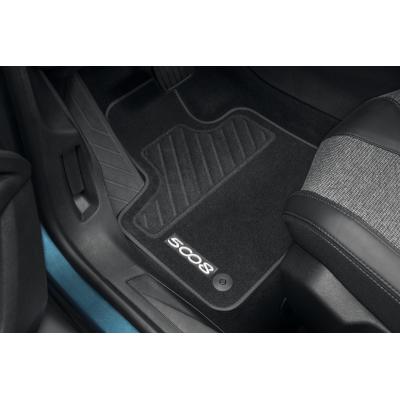 Serie di tappetini in velluto Peugeot - Nuova 5008 (P87)