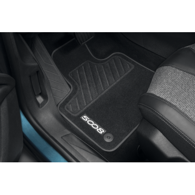 Set of velour floor mats Peugeot - New 5008 (P87)
