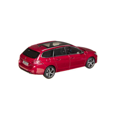Model Peugeot New 308 SW GT (T9) 1:43 - red ULTIMATE