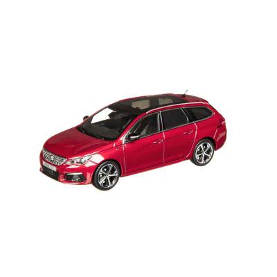 Modellino Peugeot Nuova 308 SW GT (T9) 1:43 - rosso ULTIMATE