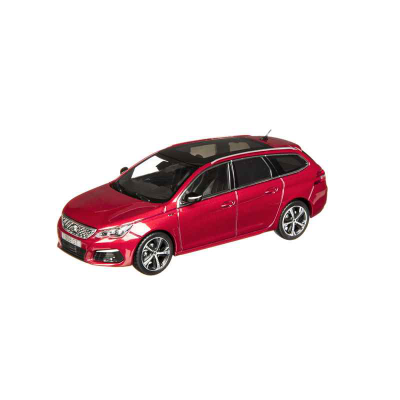 Modelo Peugeot 308 SW GT rosso Ultimate (T9) 1:43
