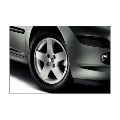 """Satz mit 4 Leichtmetallfelgen Peugeot MONACO 15"""" - 207"""
