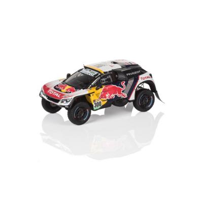 Model Peugeot 3008 DKR 2017 1:43 race edition