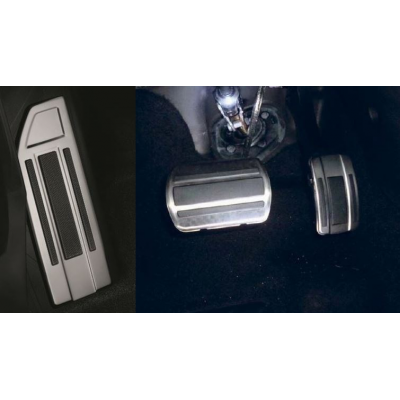 Kit de pedales y reposapies de aluminio para caja de cambios automática Peugeot - 308 (T9), 308 SW (T9)