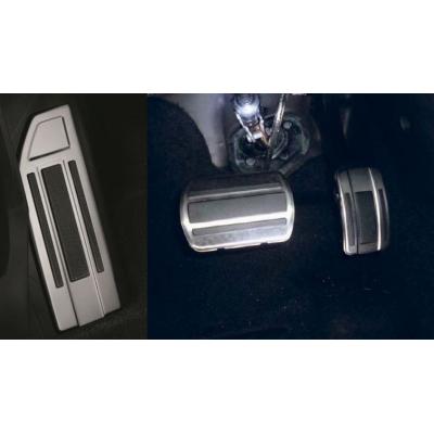 Sada hliníkových šlapek pedálů a opěry chodidla pro AUTOMATICKOU převodovku Peugeot - 308 (T9), 308 SW (T9)