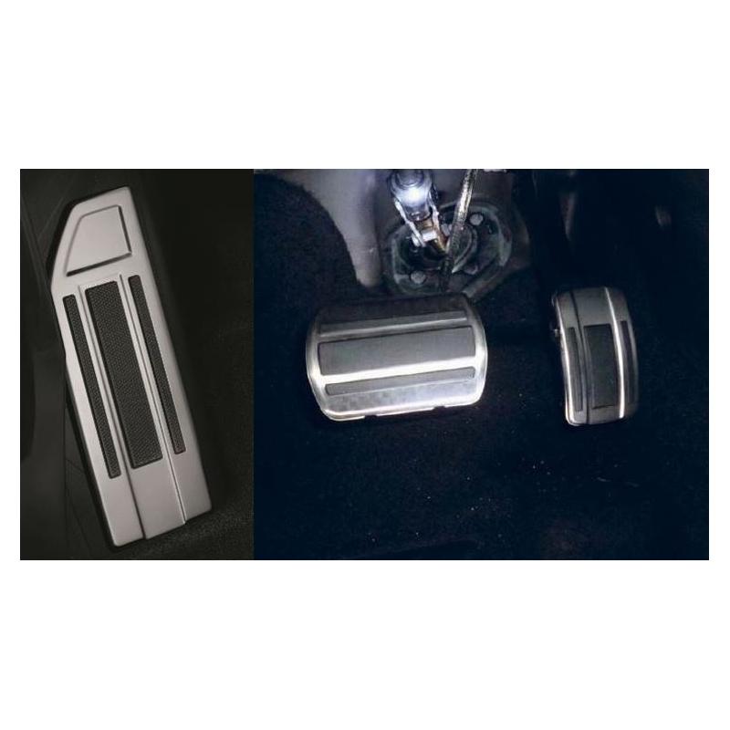 Kit pedali e poggiapiedi in alluminio per cambio AUTOMATICO Peugeot - Nuova 308 (T9)