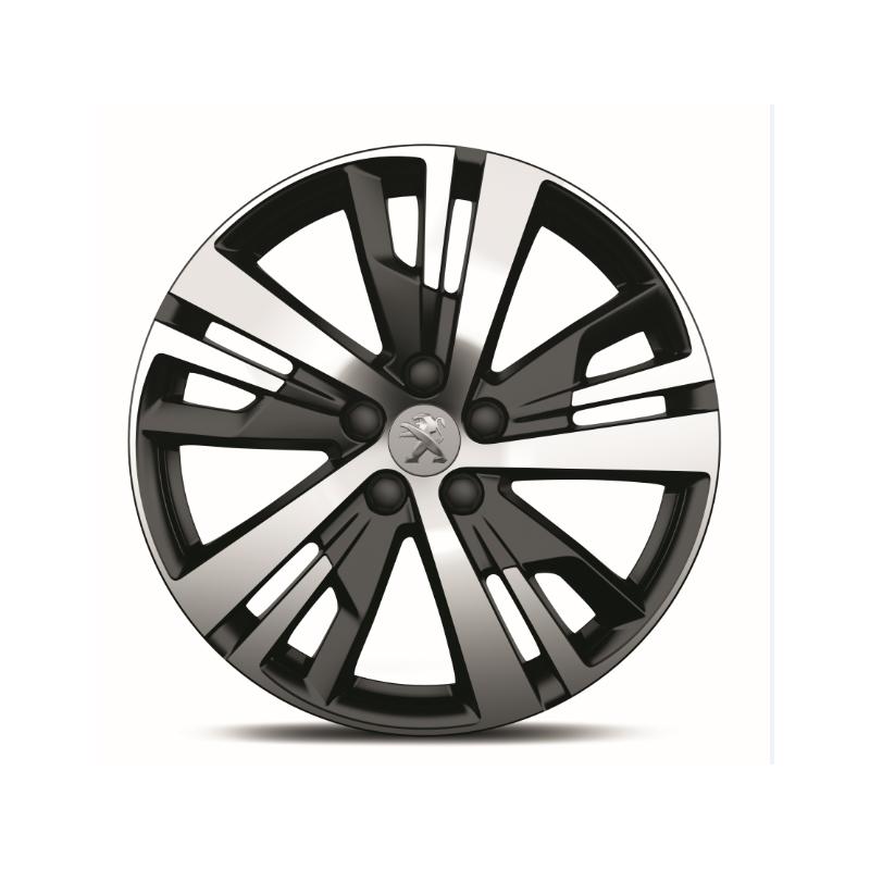 alloy wheel peugeot detroit 18 new 3008 p84 new 5008. Black Bedroom Furniture Sets. Home Design Ideas