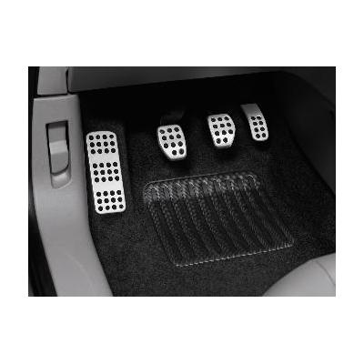 Kit de pedales y reposapies de aluminio para vehículo con caja de cambios manual Peugeot - 208, 2008