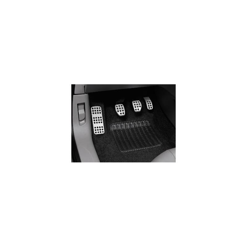 Sada hliníkových šlapek pedálů a opěry chodidla pro MANUÁLNÍ převodovku Peugeot - 208, 2008