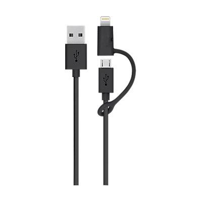 Cable 2 en 1 USB