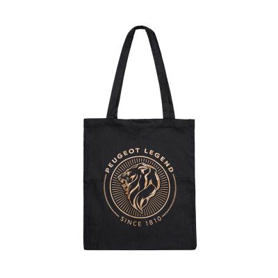 Bavlnená taška Peugeot LEGEND - čierna