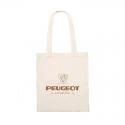 Bolsa de algodón Peugeot LEGEND - blanca