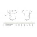 Dámské bílé tričko Peugeot LEGEND