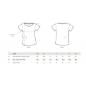 Camiseta blanca de mujer Peugeot LEGEND