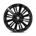 "Alu disk Peugeot TITANE Čierna Onyx (EXY) 16"" - 208"