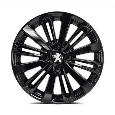 """Leichtmetallfelge Peugeot TITANE Onyx Schwarz  (EXY) 16"""" - 208"""